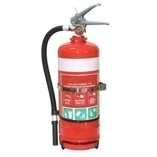 2.5kg Dry Powder Fire Extinguisher Car
