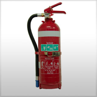 2kg Dry Chemical Powder Fire Extinguishers