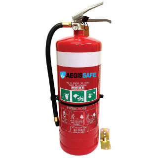 9kg Dry Chemical Powder Fire Extinguishers ABE