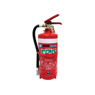 2.5kg Fire Extinguisher Car Truck Bus