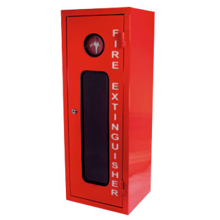 9kg Metal Fire Extinguisher Cabinet Break Glass