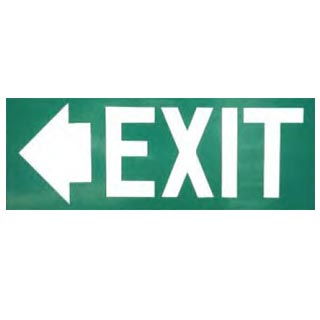 Exit Sign Left