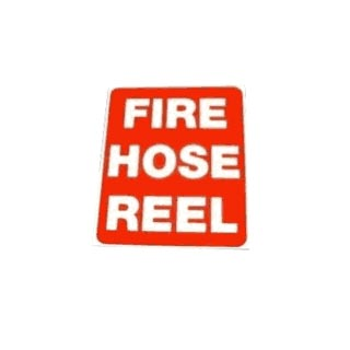Fire Hose Reel Sign Text