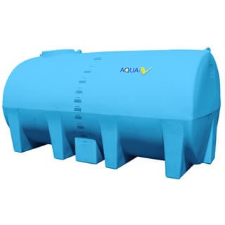Water Cartage Tank Free Standing 10000 Litres