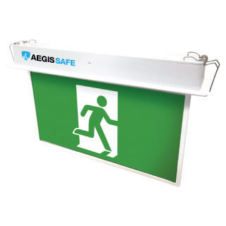 LED Exit Light Blade Emergency Sign