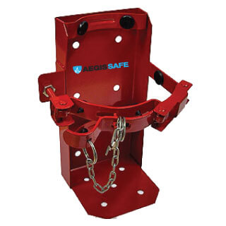 4.5kg-9kg ABE DCP Fire Extinguisher Vehicle Bracket Red