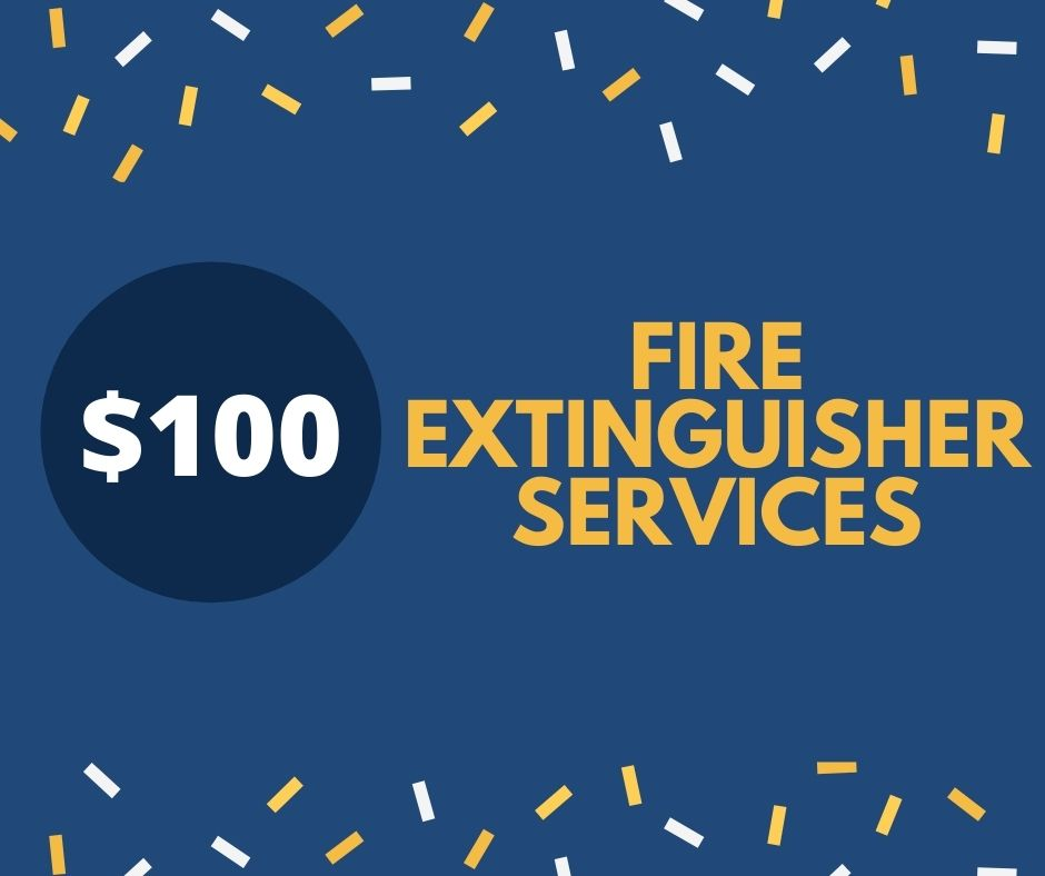 Fire extinguisher services